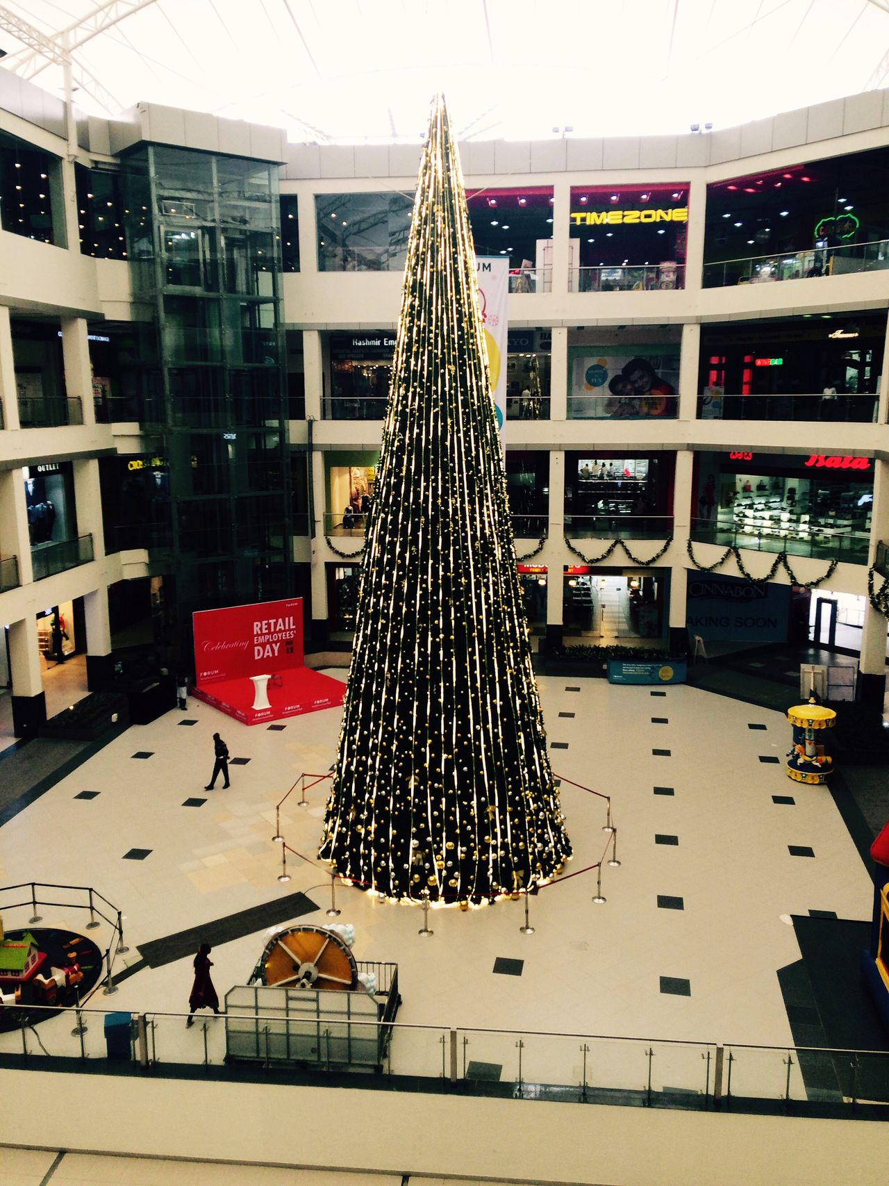 Built Structure Architecture No People Day Outdoors Christmas Tree Christmas Lights Christmas Decorations Christmas 🎄 Mall At Forum Value Mall Whitefield Bengaluru