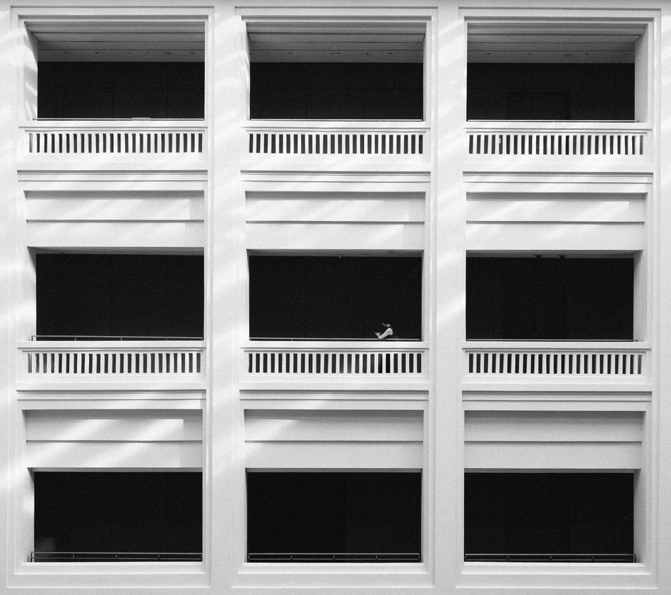 National Gallery Architectural Feature Architecture Balcony Blackandwhite Built Structure Façade Full Frame National Gallery  Nationalgallery Repetition Singapore