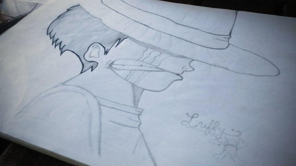 My favorite part. 💓💓 First Eyeem Photo Luffy Mugiwarapirates Onepiecefan Art
