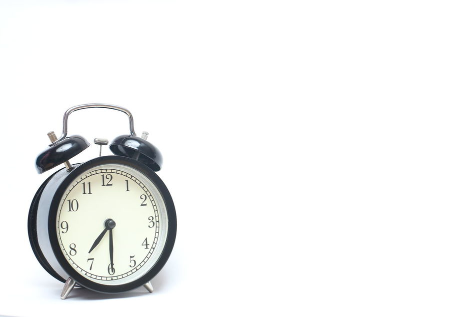 Retro alarm clock isolated on white background. Alarm Clock Am Analogue Awake Breakfast Business Chrome Classic Clock Clock Face Close-up Countdown Day Dinner Hour Isolated Isolated White Background Minute Hand Pm Reminder Ringing Sleep Style Time Waking Up