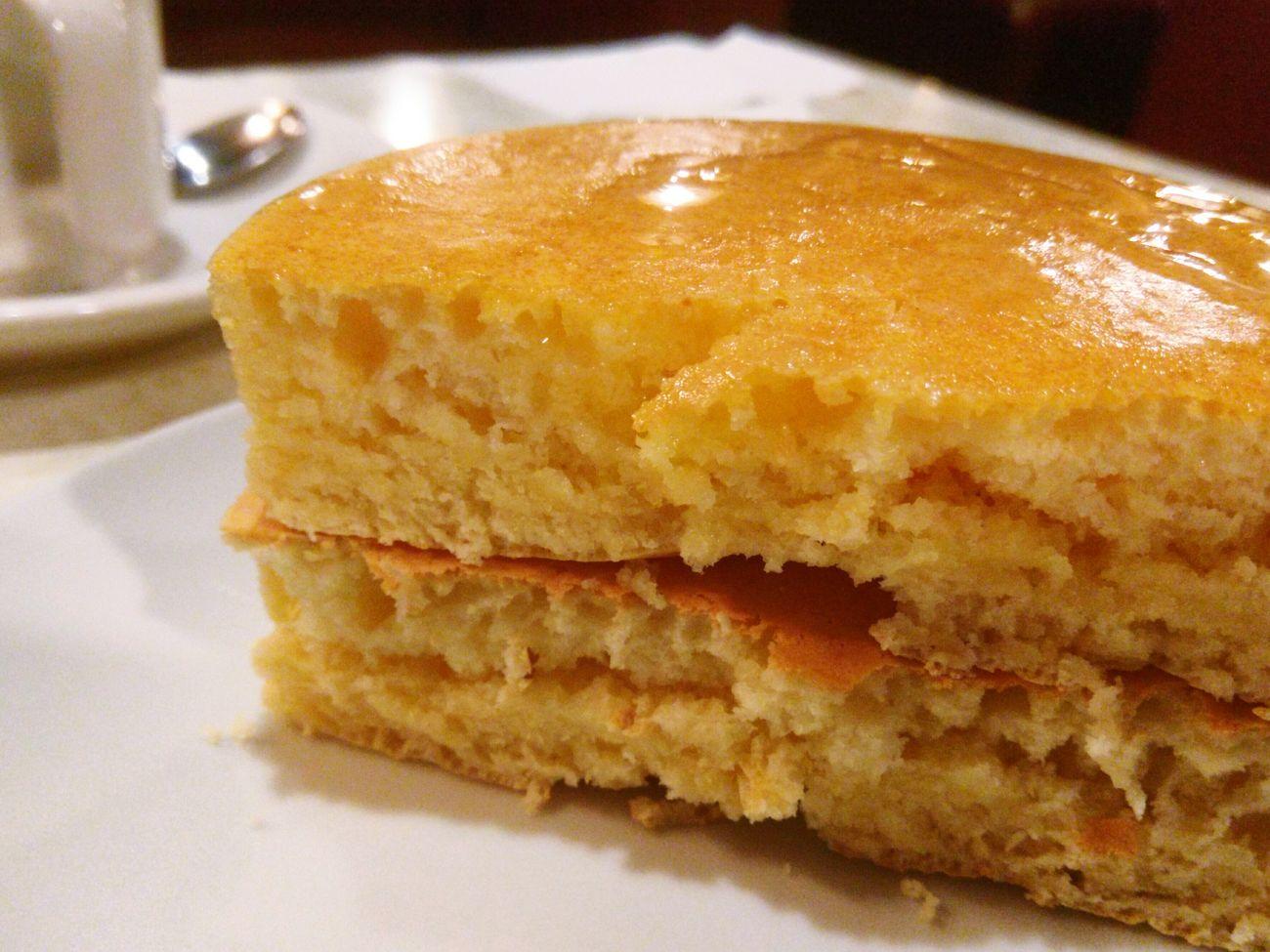 喫茶店 ホットケーキ Hotcakes 美しき 断面