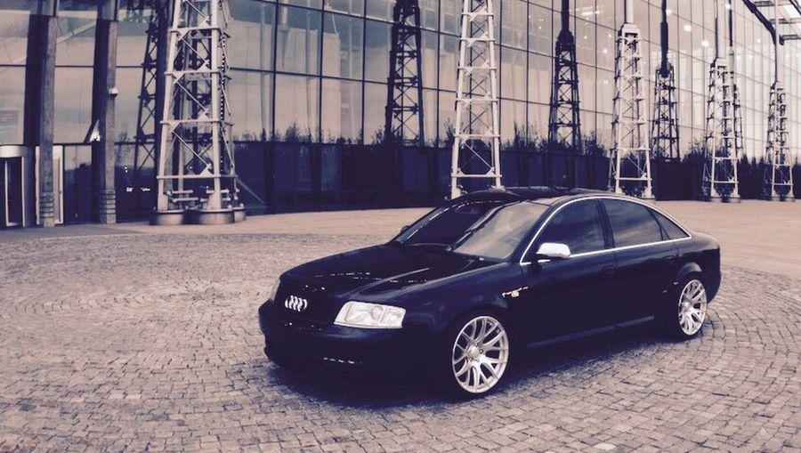 Audi A6 , 2.5L TDI • Audi Car A6 German Tdi Sport Quattro Black First Eyeem Photo