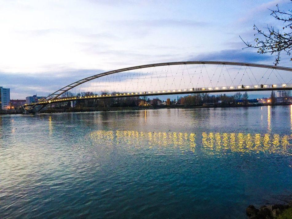 Dreiländerbrücke im Winter