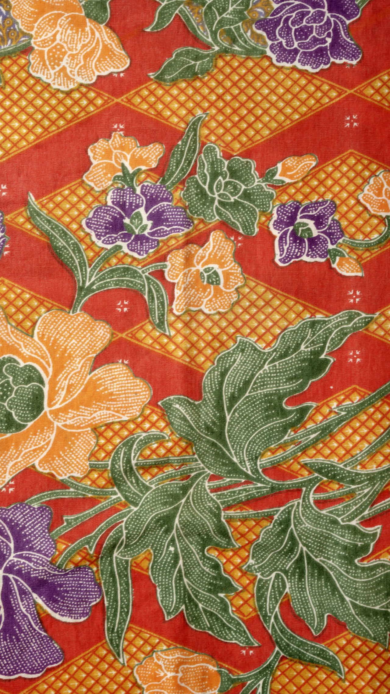 pattern of batik Artistic Backgrounds BatikIndonesia Close-up Day Fabric Fasion Full Frame Indoors  No People Pattern Patterns & Textures Seamless Pattern Textile Textured