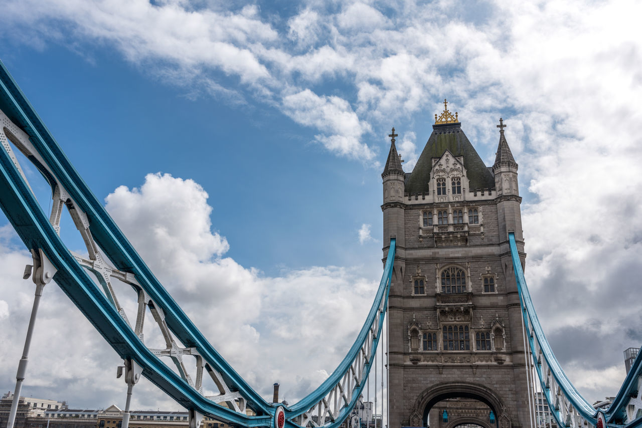 Architecture Bridge - Man Made Structure Building Exterior Built Structure City Cloud - Sky Connection Day Low Angle View No People Outdoors Sky Tourism Travel Destinations