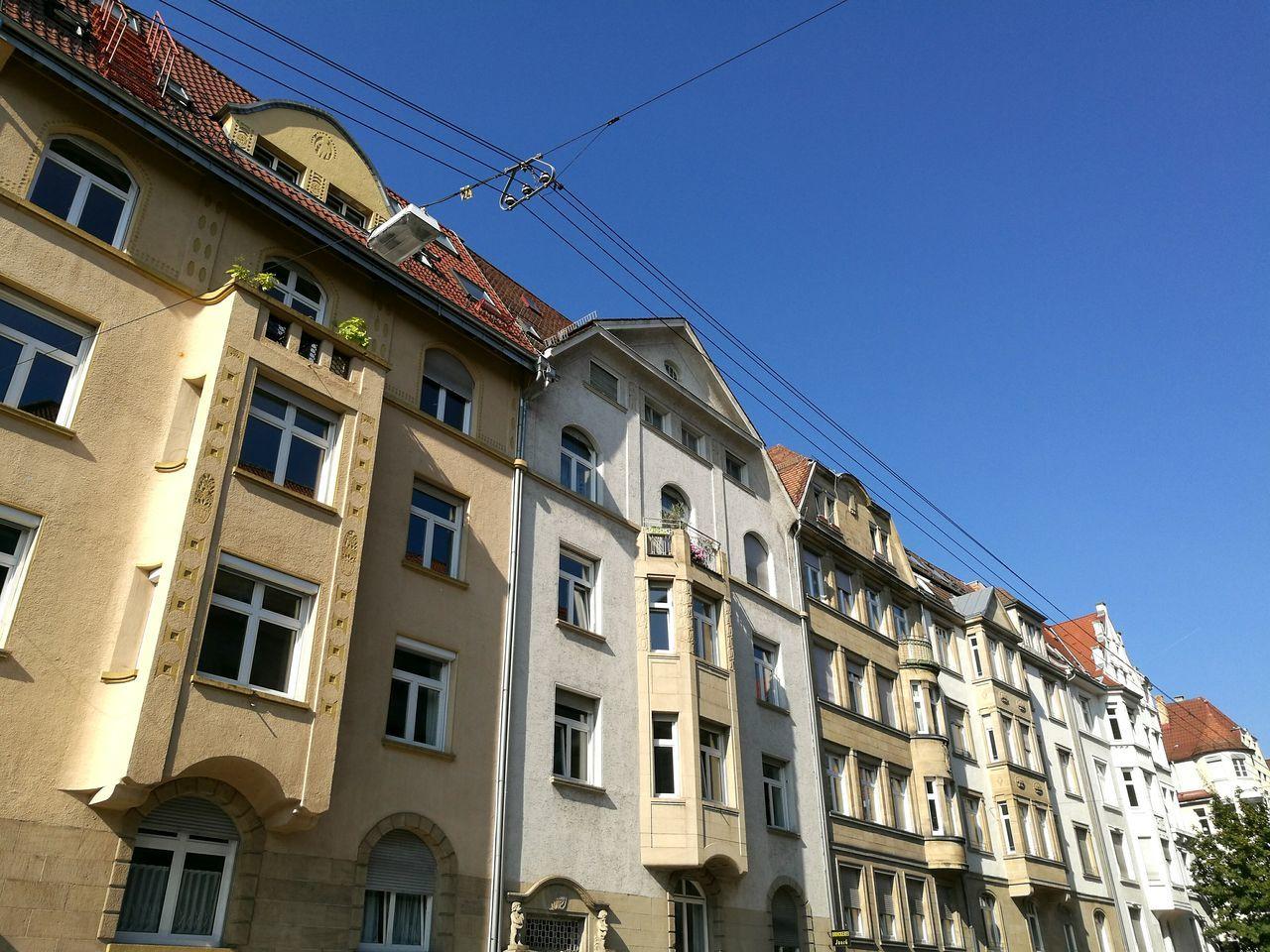 Old Art nouveau buildings in Stuttgart. Historic Old Buildings Stuttgart Old Art Nouveau Art Nouveau Buildings