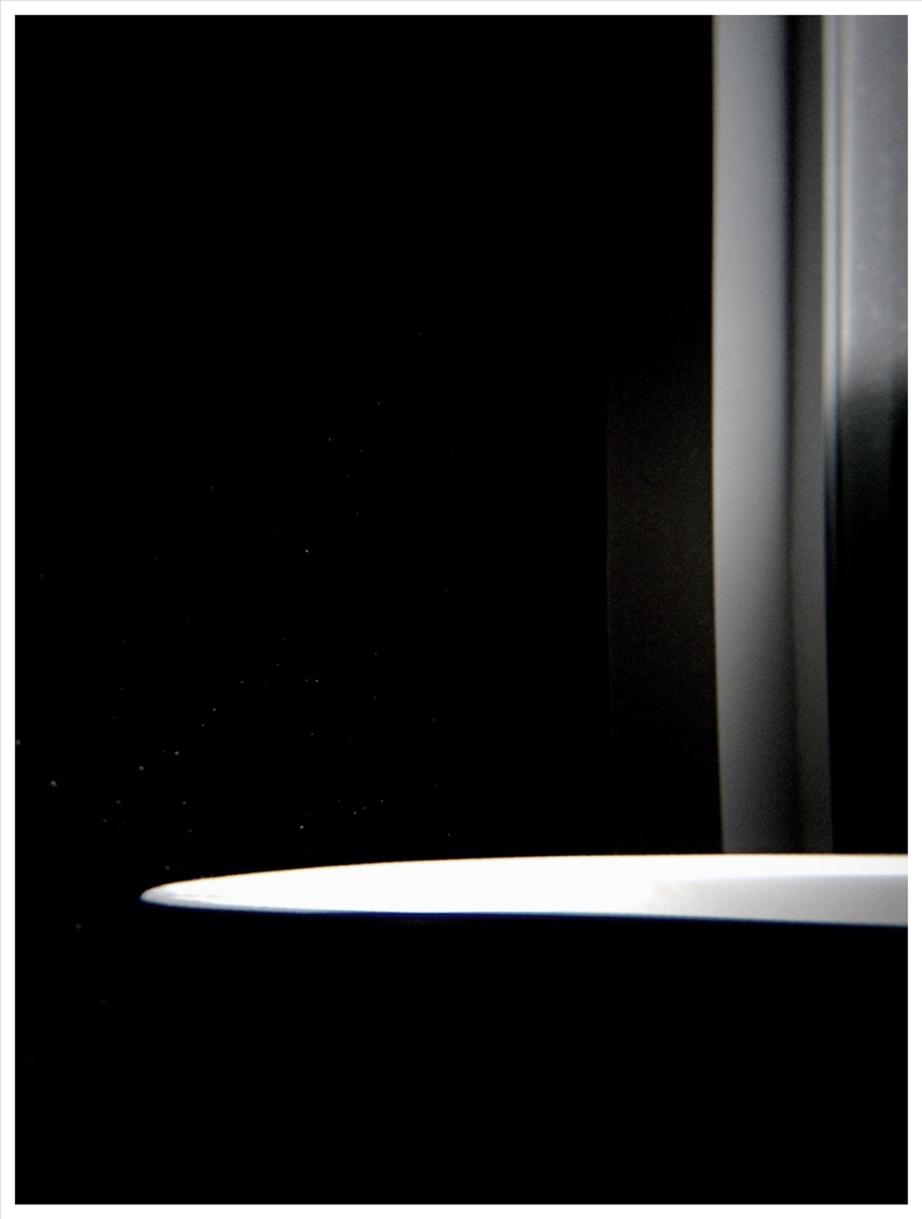 transfer print, indoors, auto post production filter, dark, copy space, black background, close-up, studio shot, window, night, no people, darkroom, illuminated, home interior, glass - material, simplicity, light - natural phenomenon, part of, abstract, single object