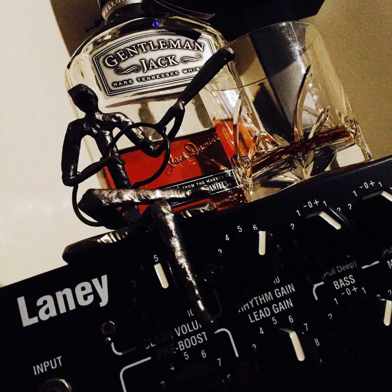 Music Studio Laney Ironheart Laneyamps