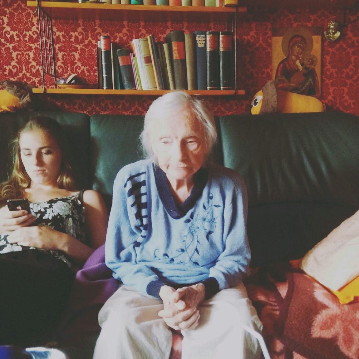 RePicture Growth Youthoftoday Grandma Getting Inspired Taking Photo Humans Socialmediaaddict