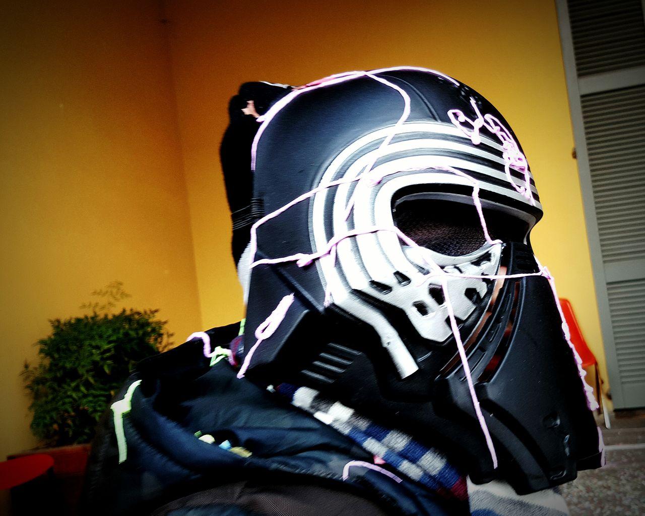 Carnevale Carnevale Di Venezia Maschera Mascherato Star Wars Urban City Citta Colori Dark Mascherina Kio Ren