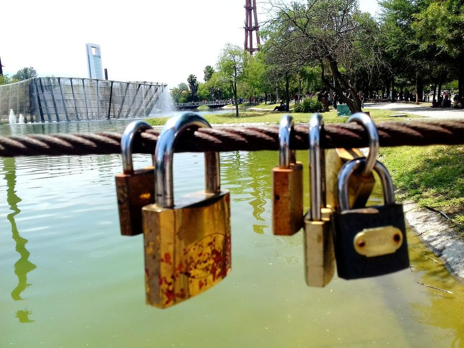 Padlock Metal Water No People Love Lock Lock Day Love Lovelovelove Love Photography