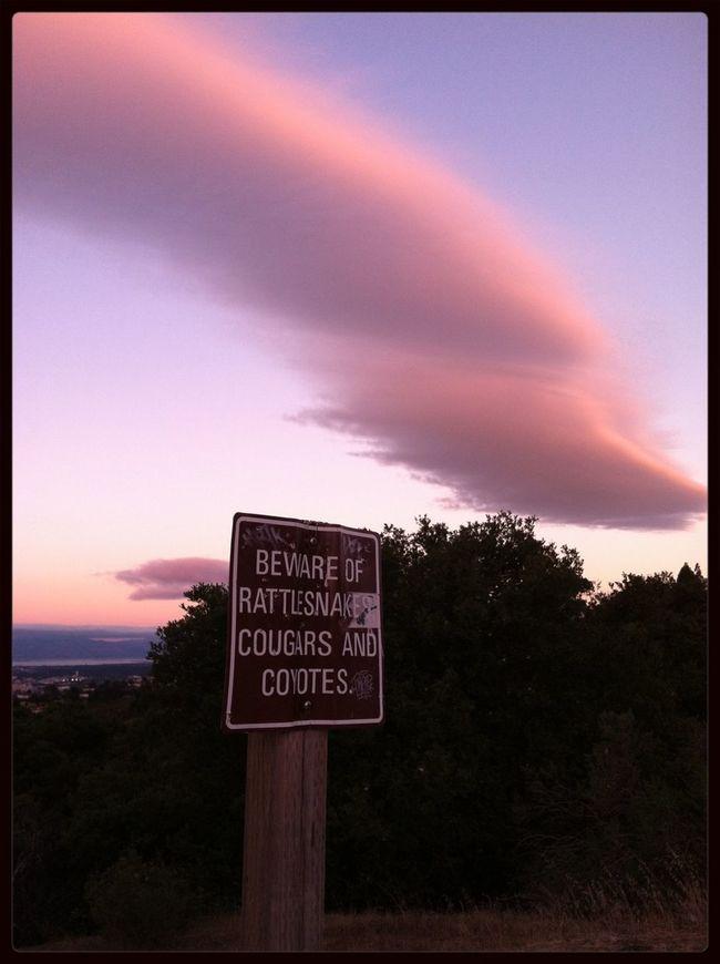 Clouds And Sky On A Hike