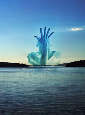 Aquatic Rising. EyeEm Gallery Water_collection Fantasy Photography Creativity Seductive Goddess