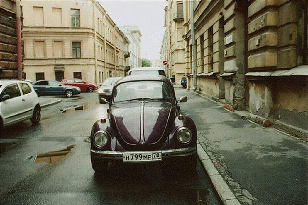 Санкт-Петербург Машина улица город Ретро авто ретро пленка 35mm 35mmfilmphotography Olimpus