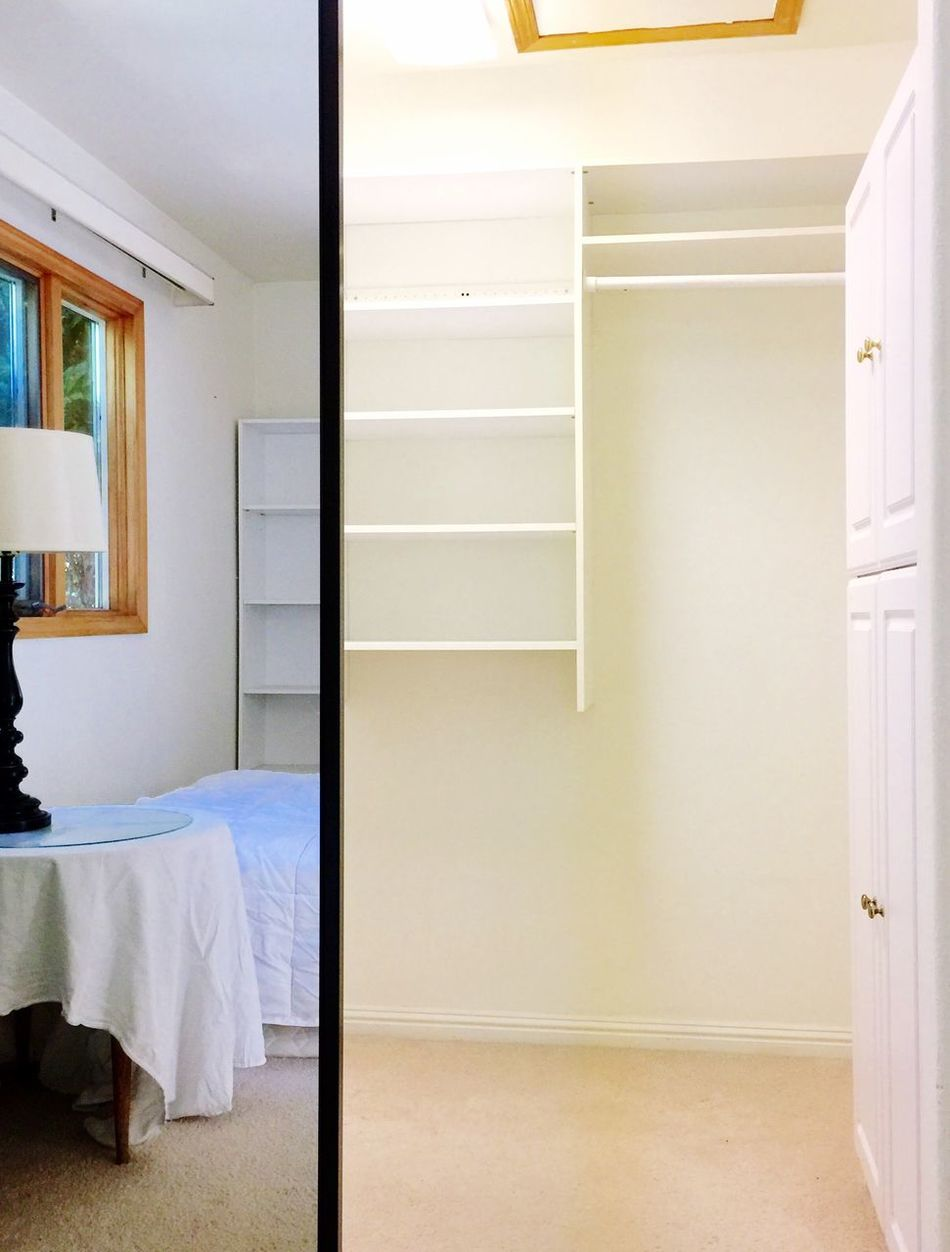 My house Interior Style Home House Interior Interior Design Architecture Mirror Closet Walkin Closet Shelves Build In Shelves Reflections Bed Lamp Table Bedside Table Bedside Lamp Window Room Trees Building Design Color Palette Eyeemphoto