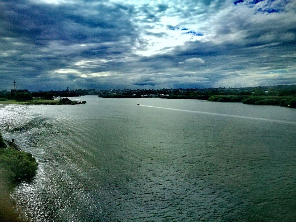 Water Nature Beauty In Nature Scenics Outdoors No People Travel Destinations Tranquil Scene Tranquility Sky Nautical Vessel Tree Cloud - Sky Day Landscape