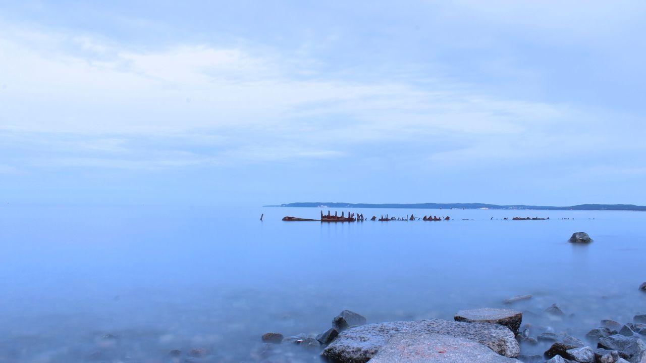 Beach Shipwreck LongTime  Night