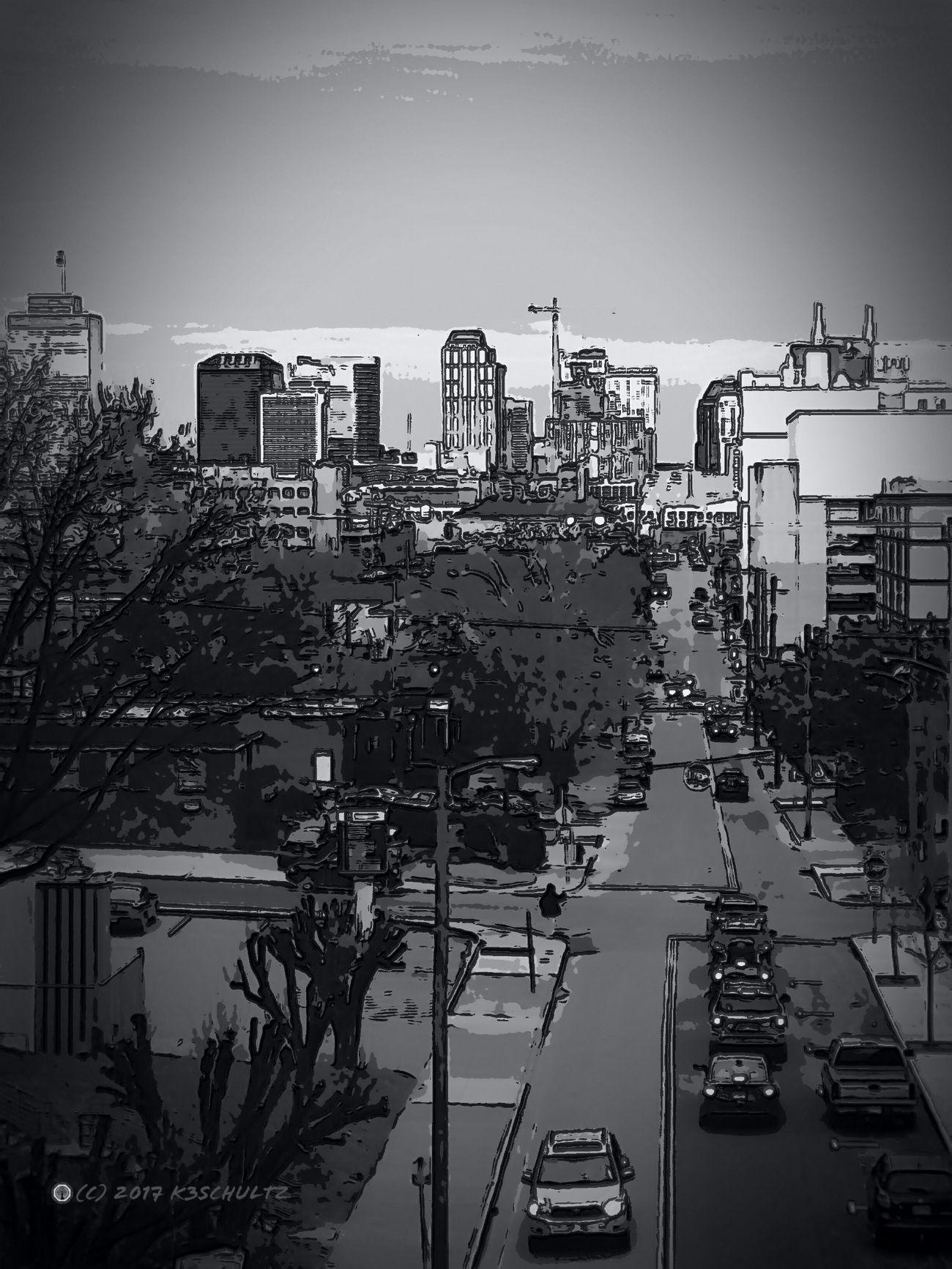 Day 9: Artistic Cityscape 365DaysOfAwesomeness PhotographyProject Black & White Cityscape Day 9 Artistic Expression