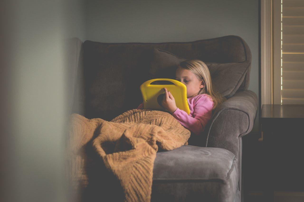 Technology Child Childhood Kids Children Ipad Home Relax