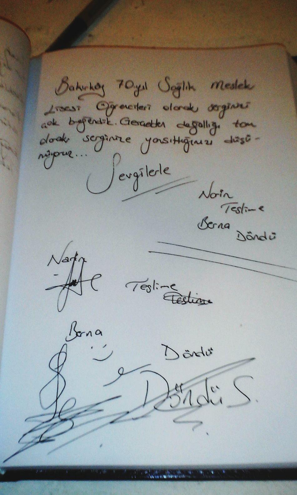 Basın Müzesinde Defter Imzaladık Kankalarla Everyday Joy