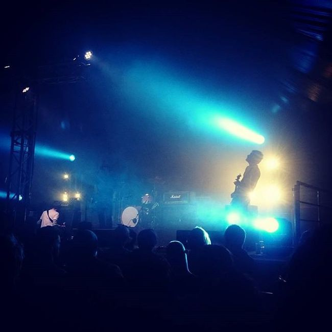 Nine Black Alps tore it up yesterday at Y Not Festival @nineblackalps Ynotfestival Ynot