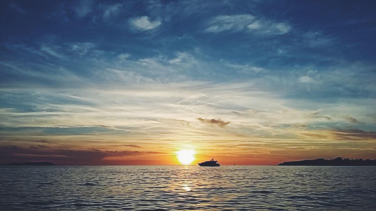 Ibiza Sunset Beach Sant Antoni De Portmany