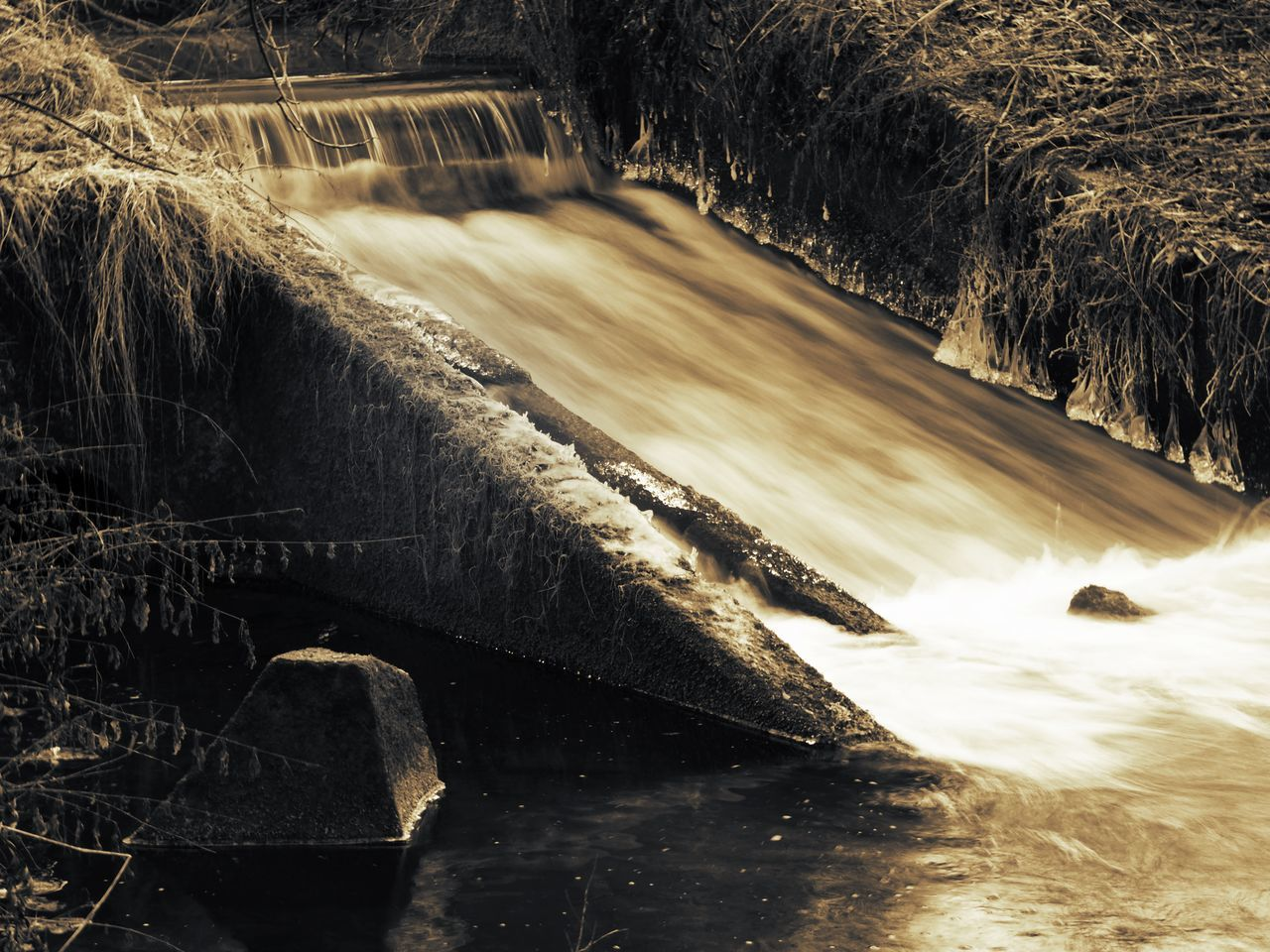 Beauty In Nature Landscape Langzeitaufnahme Langzeitbelichtung Motion Nature The River The River Thames Water Waterfall