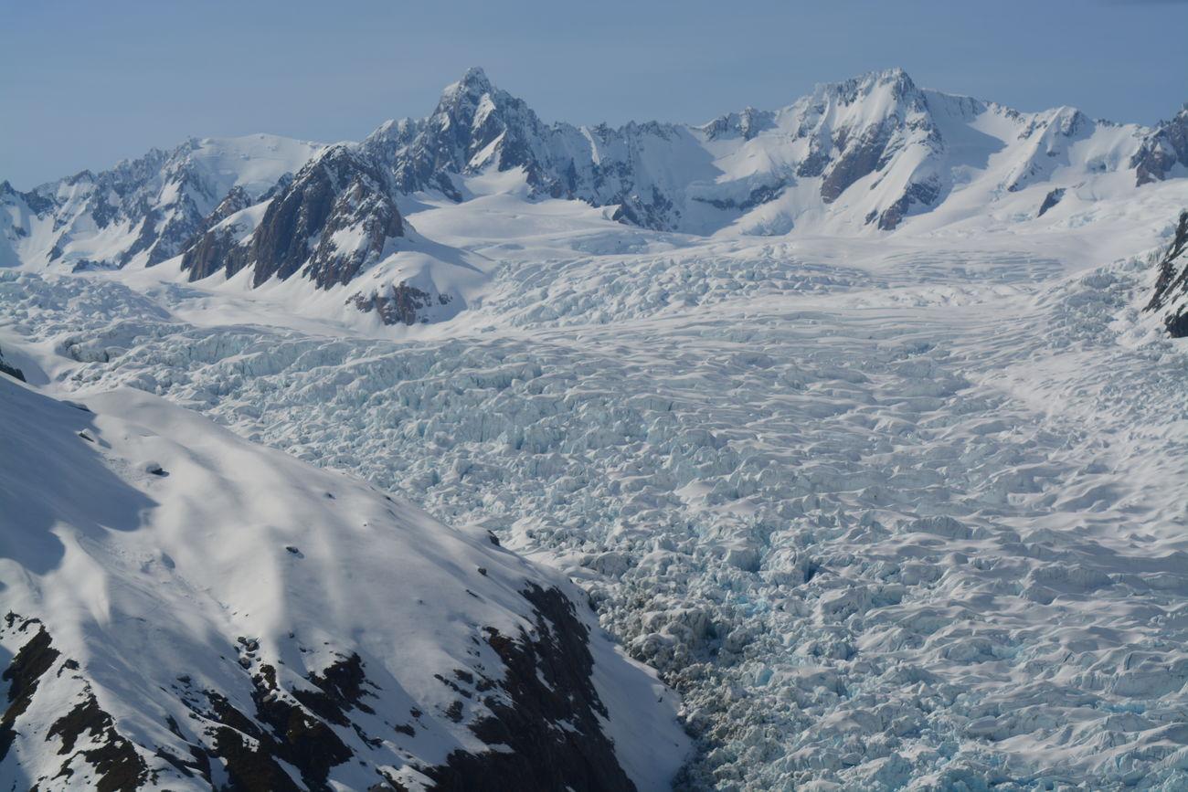 Glacier Cold Temperature Fox Glacier Landscape Mountain Physical Geography Scenics Snow Snowcapped Mountain Tranquil Scene