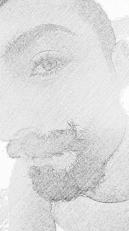 Me Samsungeffect Real Baffi Barba Moustache Beard