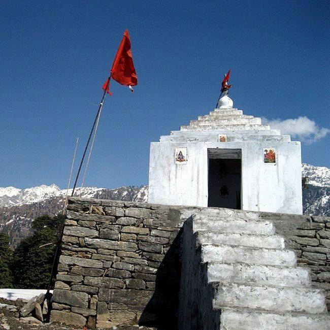 BirniDevi in Dhauladhar Mountains of Himalayas Palampur . Hiking Trekking and Camping Solo Himachalpradesh