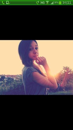Taking Photos Sonnenuntergang Sommerfeeling .♥