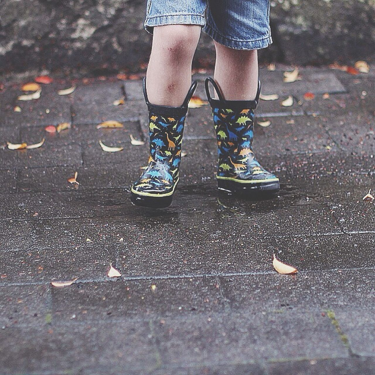 Rain and gumboots! 💦☔️ Gumboots Kinda Day Rain Weather Leaves