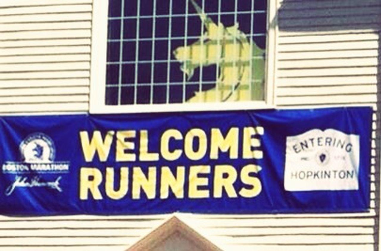 Boston Marathon Welcome Running Time For A Race Taking Photos Enjoying Life Sunny Day Volunteering Hello World