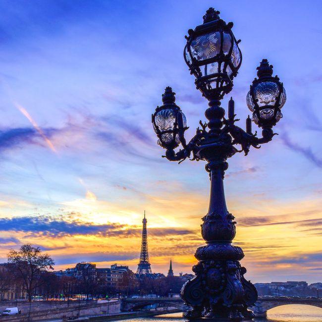 Good Evening Paris! Bonne soirée! Being A Tourist Architecture Eyem Best Shot - Architecture Historical Sights Paris Eiffel Tower Tour Eiffel Sunset