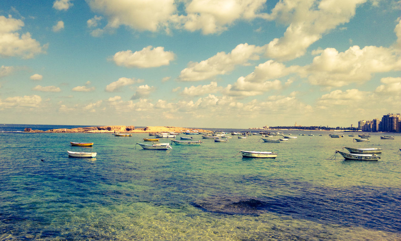 Miami beach Alexandria Sea Cloud - Sky Nautical Vessel Sky Beach Sand Nature Beauty In Nature Social Issues Outdoors No People Day Yachting Alexandria Egypt Travel Destinations Backgrounds Freshness City Cityscape Eyeem Photography Alexandria, Egypt