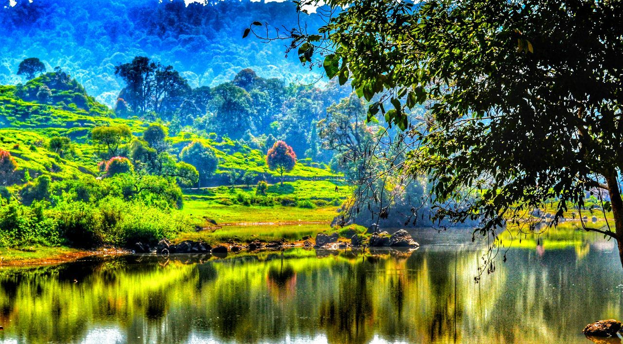 HDR Landscape Nature Water Reflections EyeEm Nature Lover Lake View Nikon D3100 EyeEm Indonesia Traveling Beautiful Indonesia