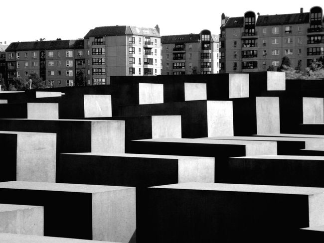 Apartment Architectural Feature Architecture Berlin Travel Destinations Black And White Stelenfeld Light And Shadow Outdoors No People Modern City Life Built Structure ArtWork Sunshine ☀ Side By Side Wallpaper The Architect - 2016 EyeEm Awards TakeoverContrast