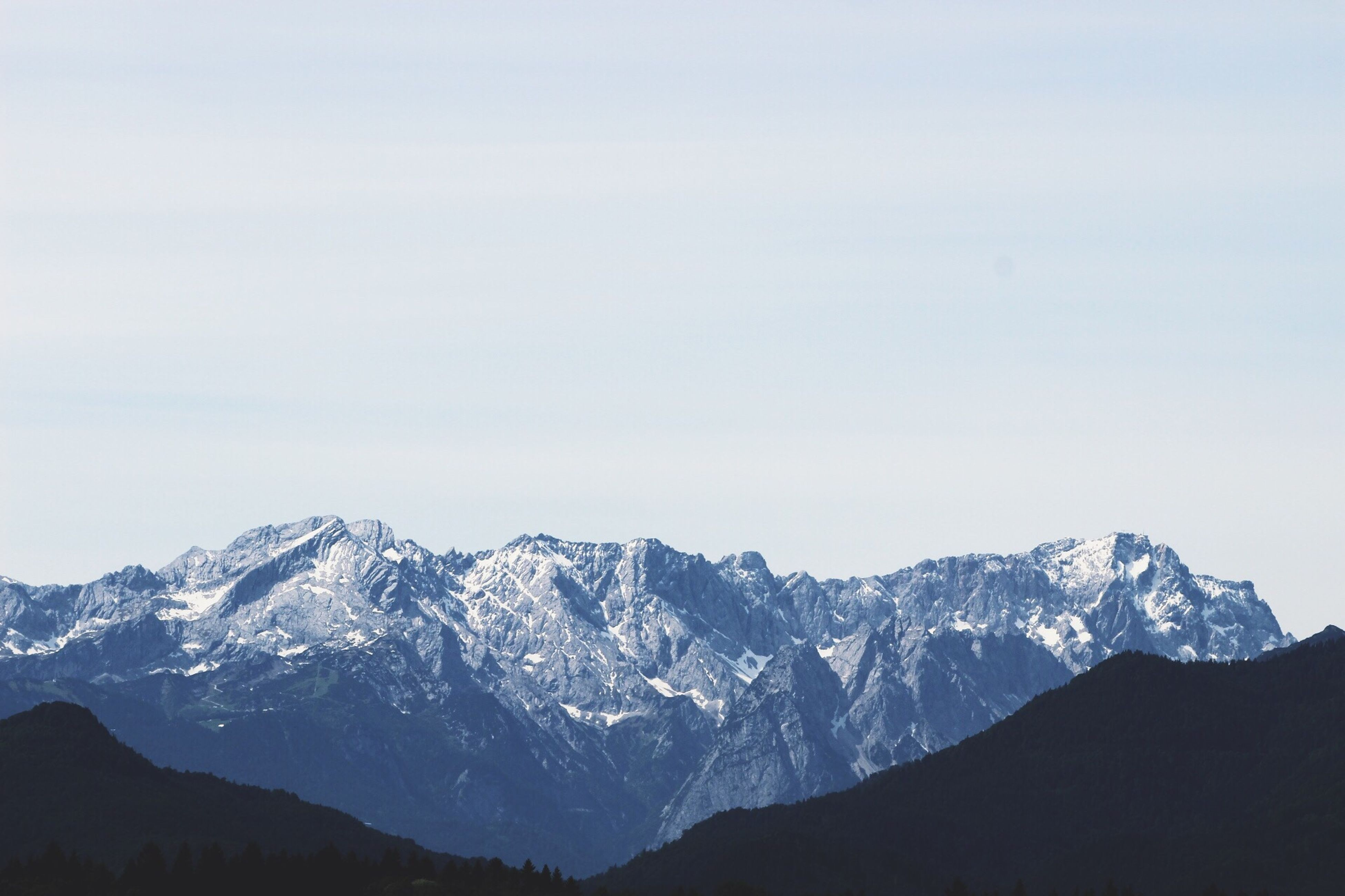 Mountain Blue Nature Alps Zugspitze
