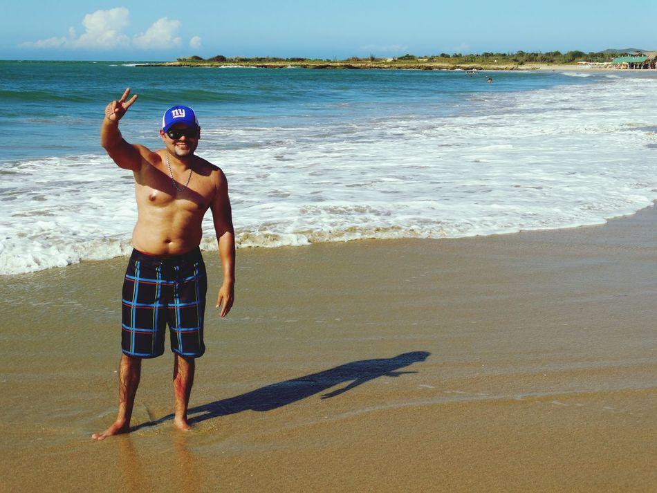 Caribbean Beach Margaritaisland Enjoying Life