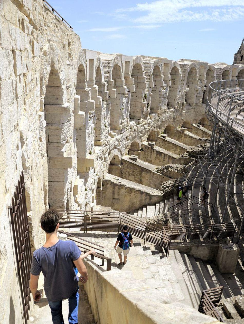 France 🇫🇷 Arles Provence Arena Hanging Out Everyday Joy Enjoying Life Holidays ☀ Architecture Summer Feelings
