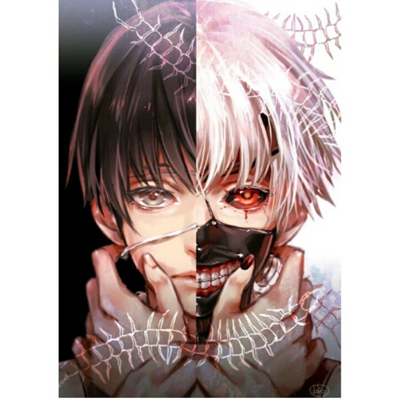 I'm gonna read the manga after the anime is done. Manga Kanekiken Tokyoghoul
