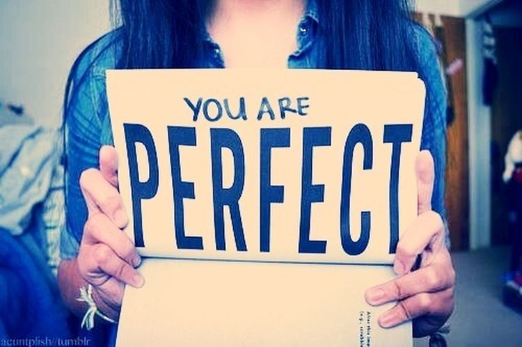 Don't Forget Ur Perfect To Me  :) :****