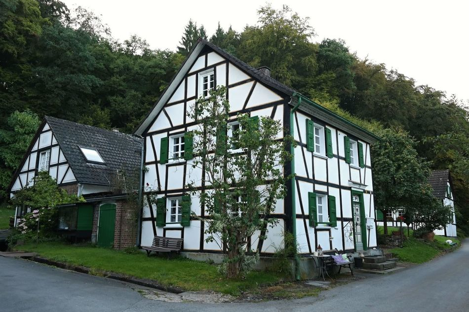 Architecture Building Exterior Built Structure Deutschland Germany🇩🇪 Grass Half-timbered Half-timbered House Half-timbered Houses Historical Architecture House Houses No People Outdoors Tree Village Village House Village View