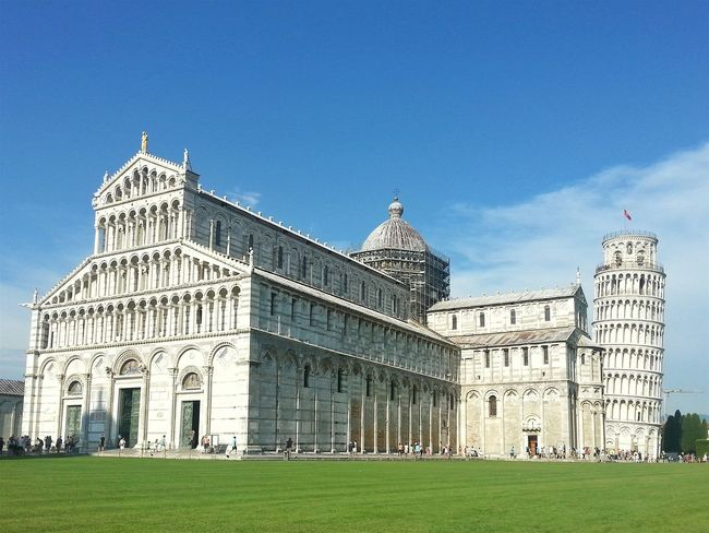 Pisa Showcase July Tower Art History