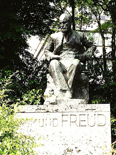 Hidden Away Freud Statue
