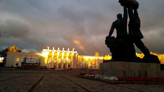 The Color Of Sport Travel Destinations Famous Place Statue Sky Monument Storm Cloud Creativity