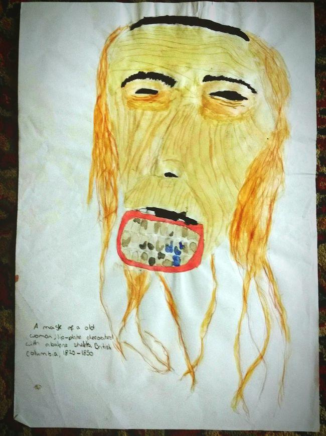 Painting 13yroldme Schoolart