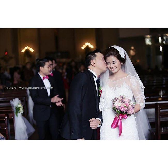 I love you with all my might till my last breath. Rickyvitawedding Wedding Moment Icliqphoto organized by @amazinggraceorganizer