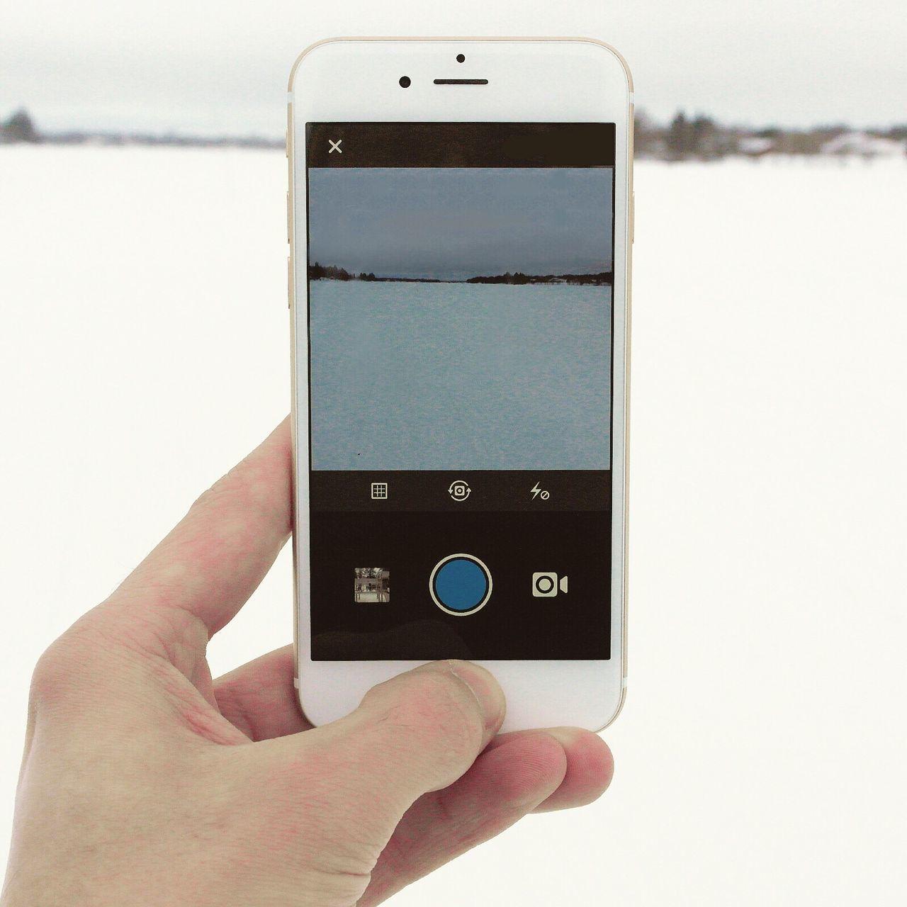 What I see. ThroughiPhone Throughmyeyes Taking Photos Lapland Finland