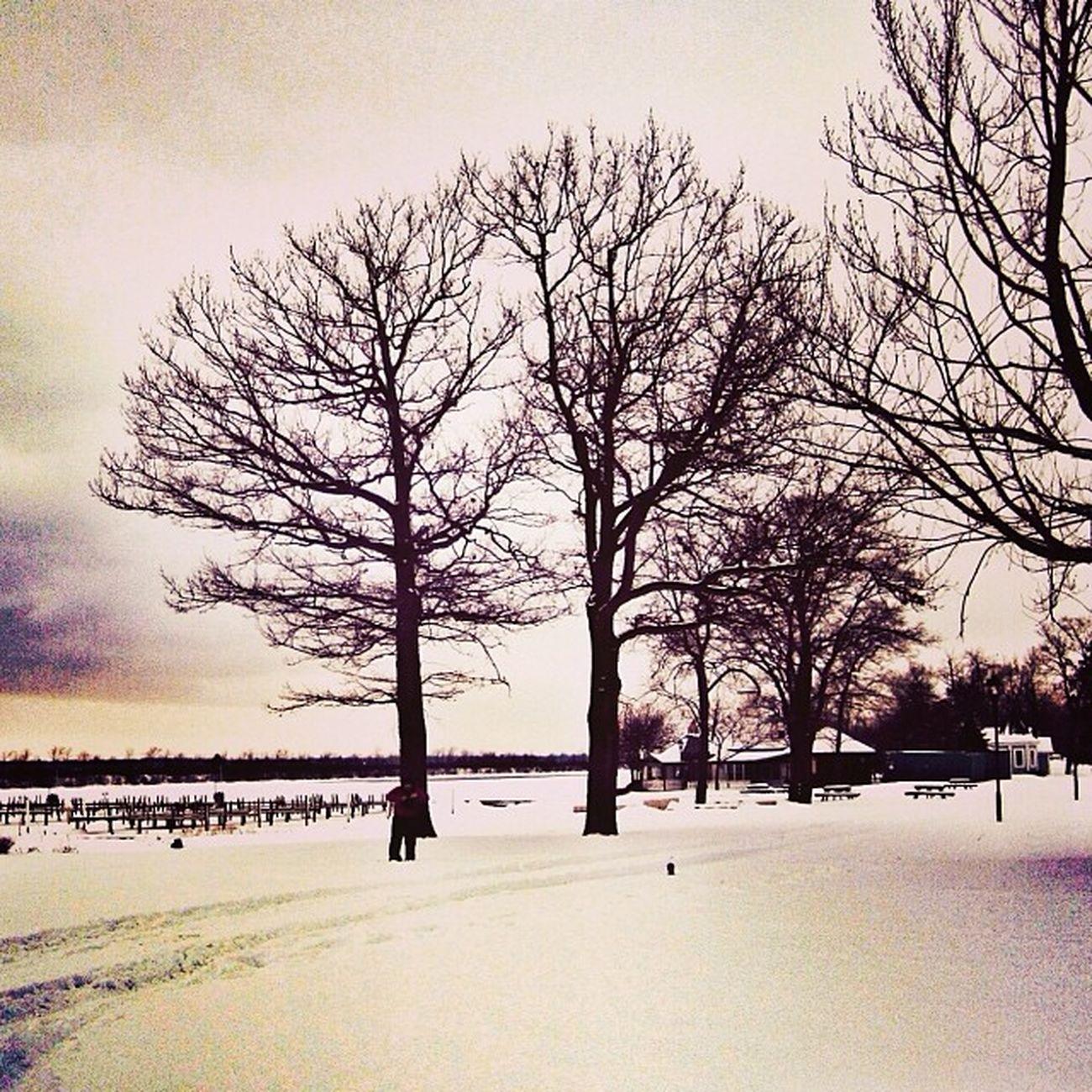 Amherstburg Wintertime Winterscenes Snapseed
